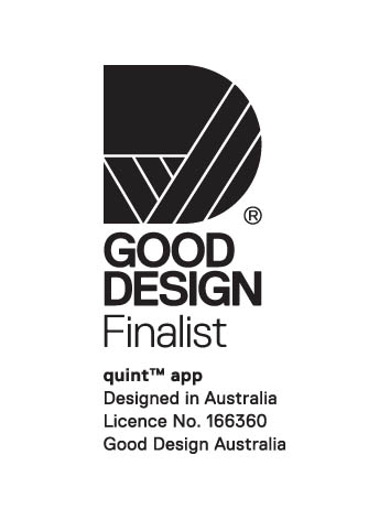 Good Design Award Finalist quint app melina wilkins