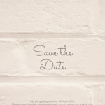 quint app, quint design, save the date invitation design, contemporary design, designer mobile app