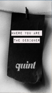 quint app, quint design, invitation design, contemporary design, designer mobile app